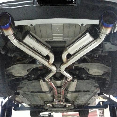MOTORDYNE ENGINEERING SHOCKWAVE | CAT BACK EXHAUST | 370Z/G37