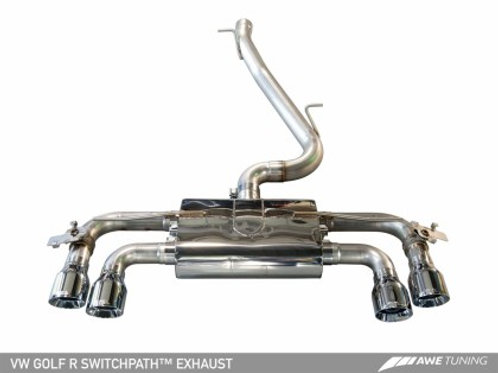 AWE TUNING SWITCHPATH EXHAUST | 2015-2017 GOLF R MK7