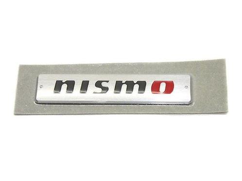 GENUINE JDM NISSAN METAL NISMO EMBLEM | SILVER