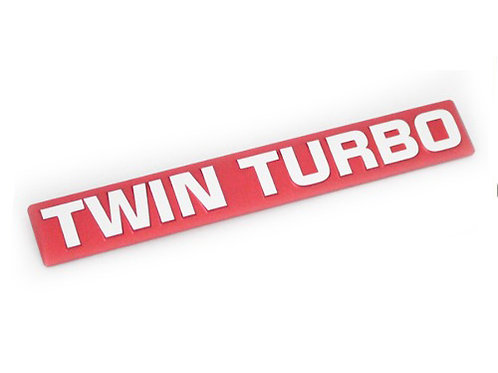 GENUINE JDM TWIN TURBO EMBLEM | R32/R33/R34 GT-R