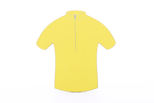 Coaster - Yellow Jersey Design