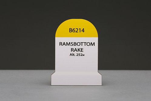 Coaster - Ramsbottom Rake Bourne Stone