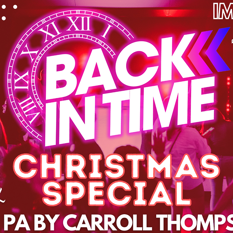 BACK IN TIME CHRISTMAS SPECIAL