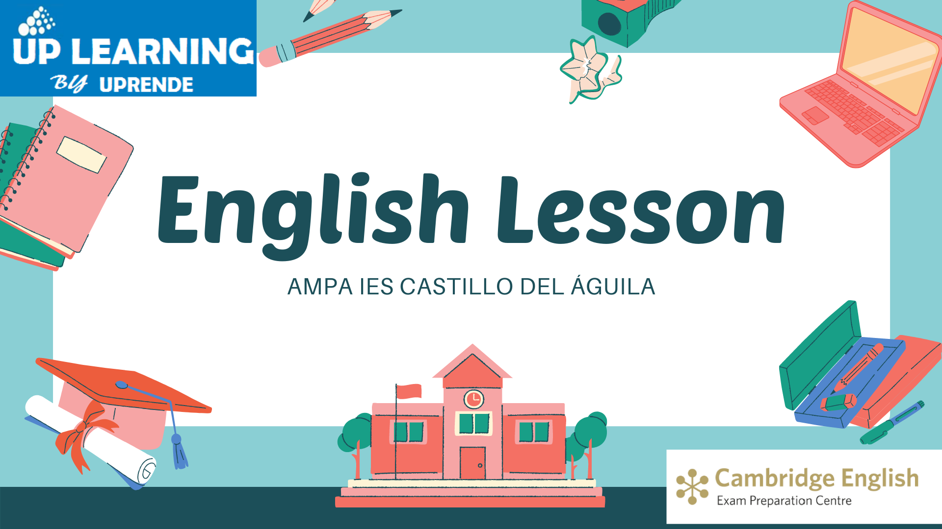 UPRENDE_ENGLISH_CLASS_AMPA_IES_CASTILLO_