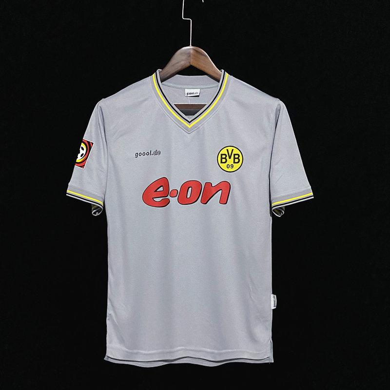 Retro 2000 Replica Borussia Dortmund Away Football Shirt | Customisable | Mysite