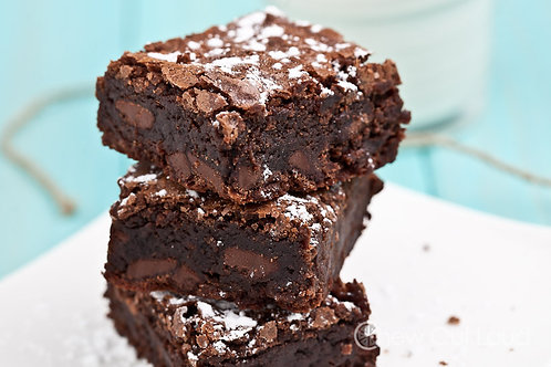 Triple Fudge Brownies | 1-dozen