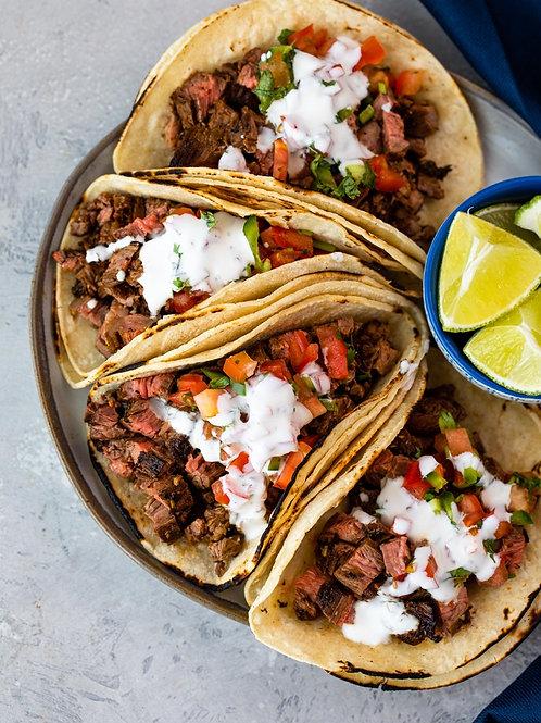 Street Taco Dinner | Serves 4 people