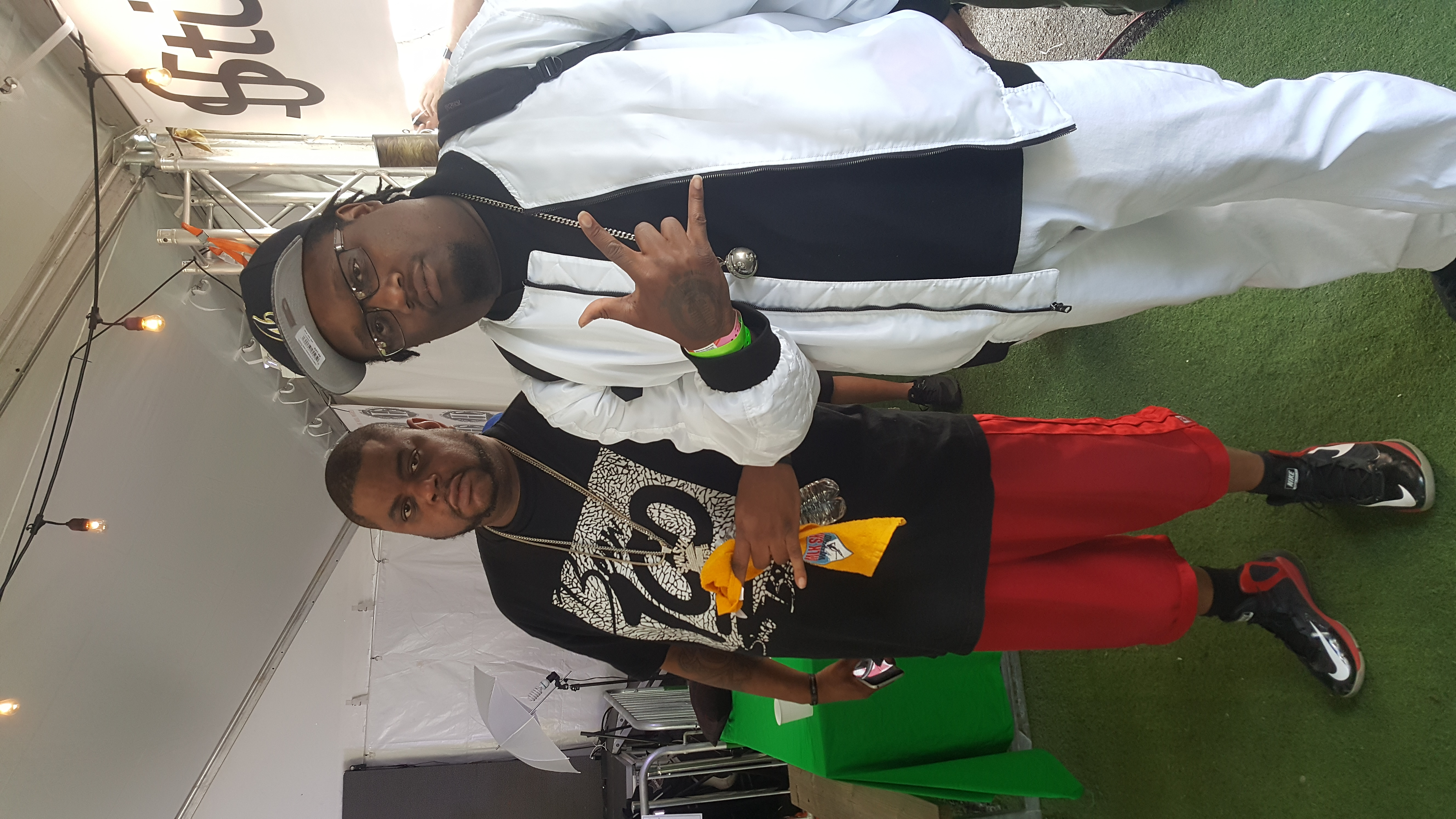 with DJ BIG REDD OF SWISHA HOUSE