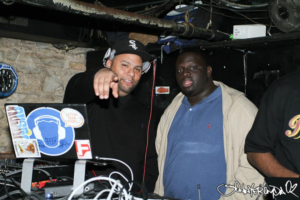 DJ KNOWLEDGE AND BLACK MIKE