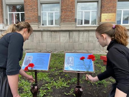 Возложение цветов на Аллеи Героев