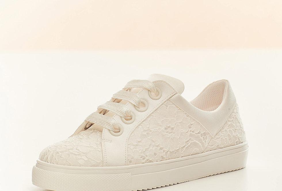 Chaussures Mariée Satin et dentelle AVALIA - ZOEY