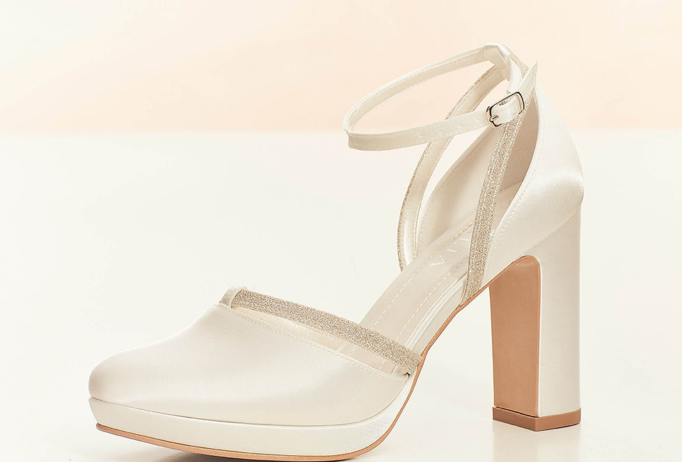 Chaussures Mariée Satin AVALIA - MARY