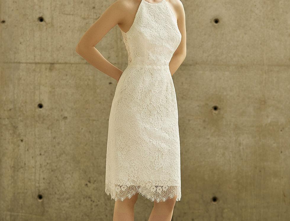 Robe de Mariée courte en dentelle - Bride Now BN005