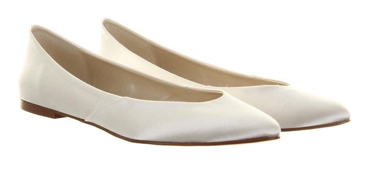 Chaussures Mariée Satin RAINBOW Club - CARMEL