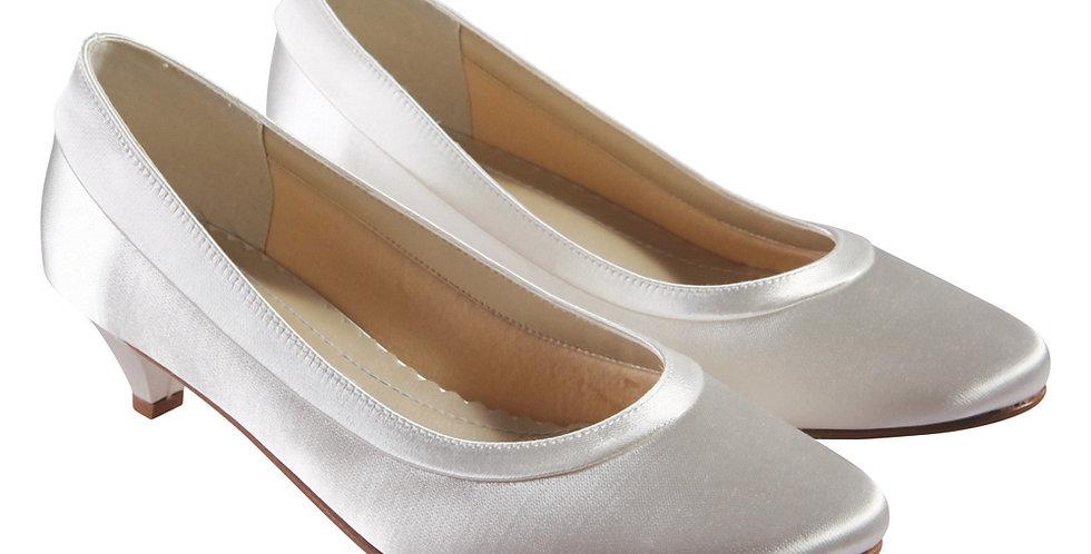 Chaussures Mariée Satin RAINBOW Club - BEA