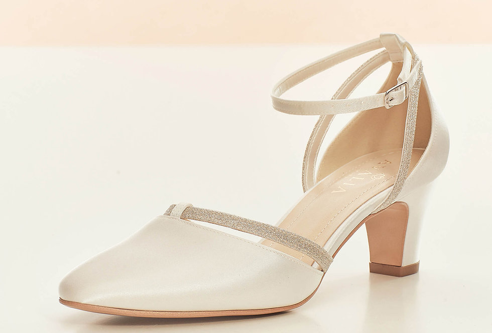 Chaussures Mariée Satin AVALIA - LUNA