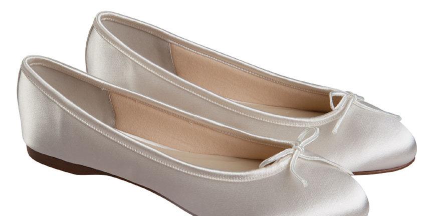 Chaussures Mariée Satin RAINBOW Club - LOUISE