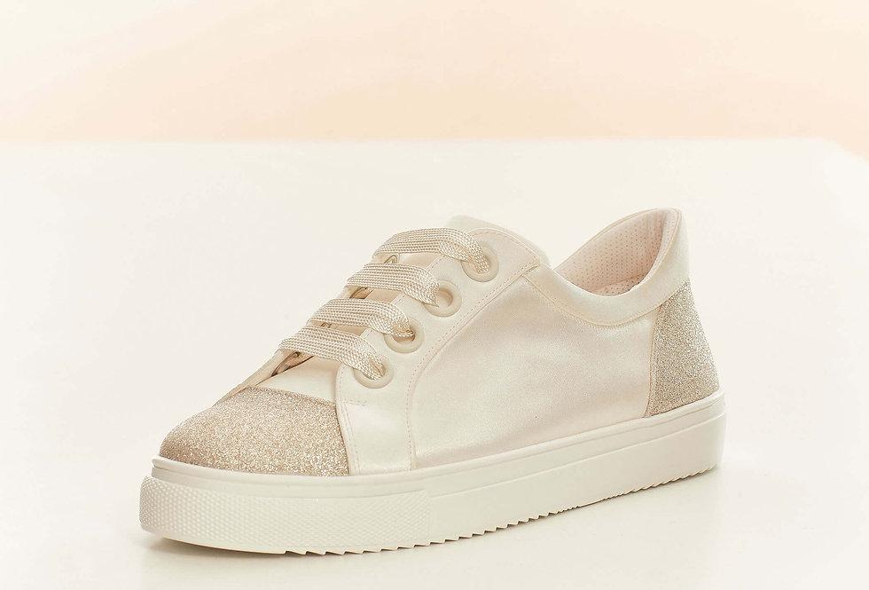 Chaussures Mariée Satin et paillettes AVALIA - ROBIN