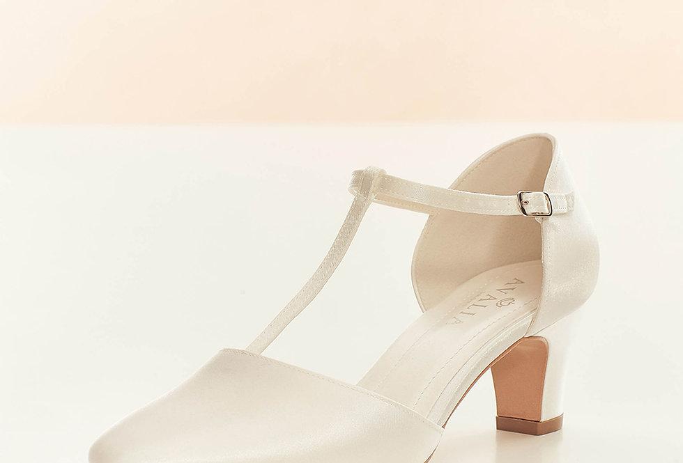 Chaussures Mariée Satin AVALIA - AURA