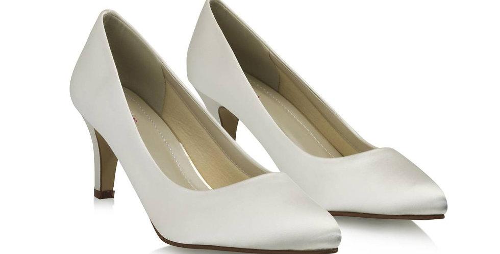 Chaussures Mariée Satin RAINBOW Club - LOTTIE