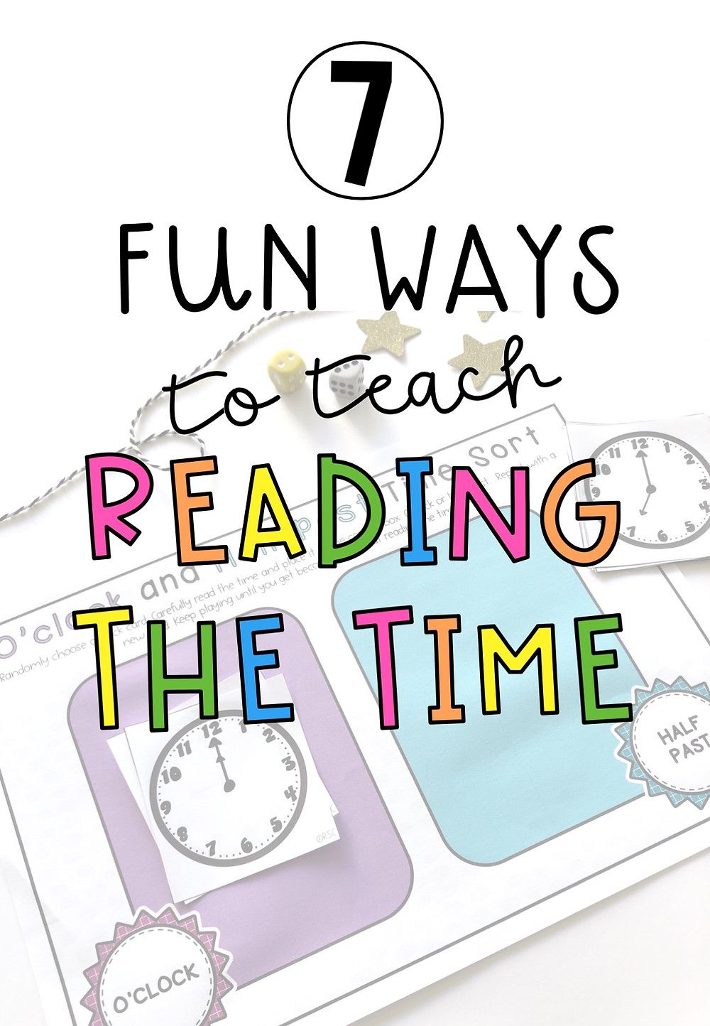 7 fun ways to teach reading the time pin