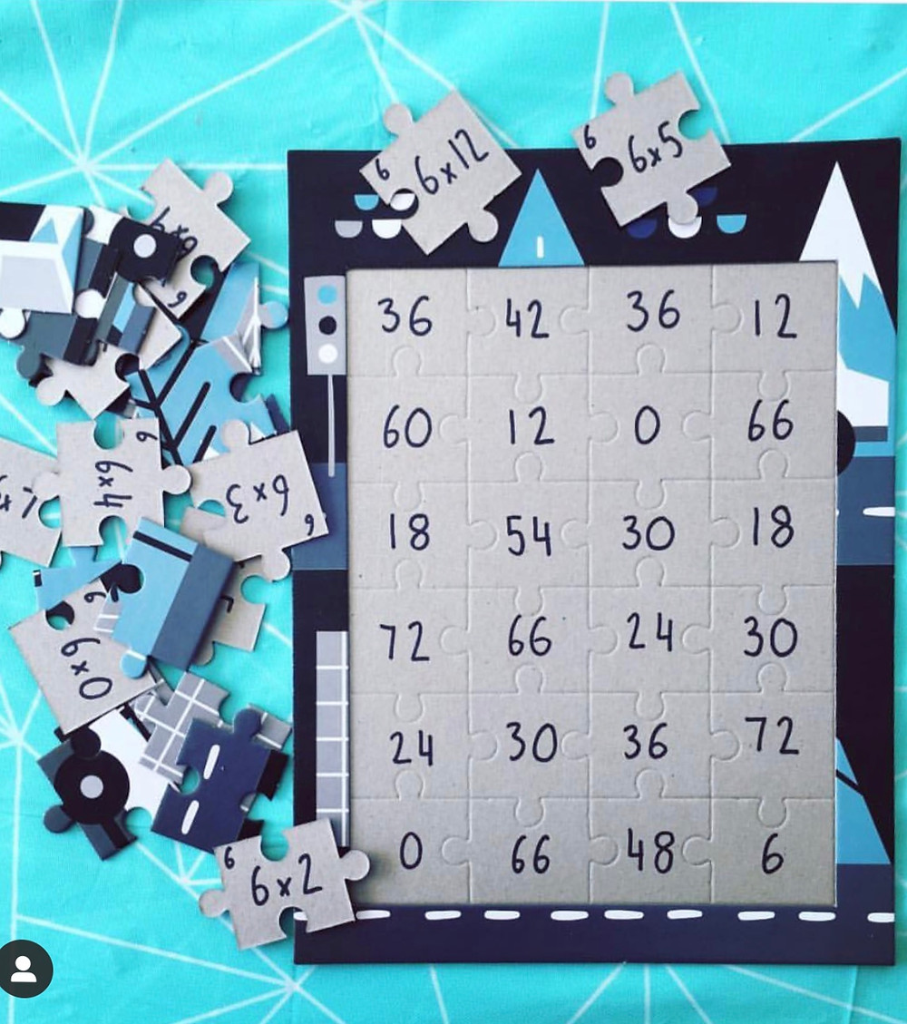 Times-table-puzzels