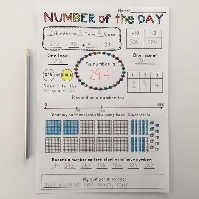 Number-of-the-Day-template