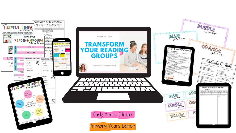 Transform your Reading Groups inclusions