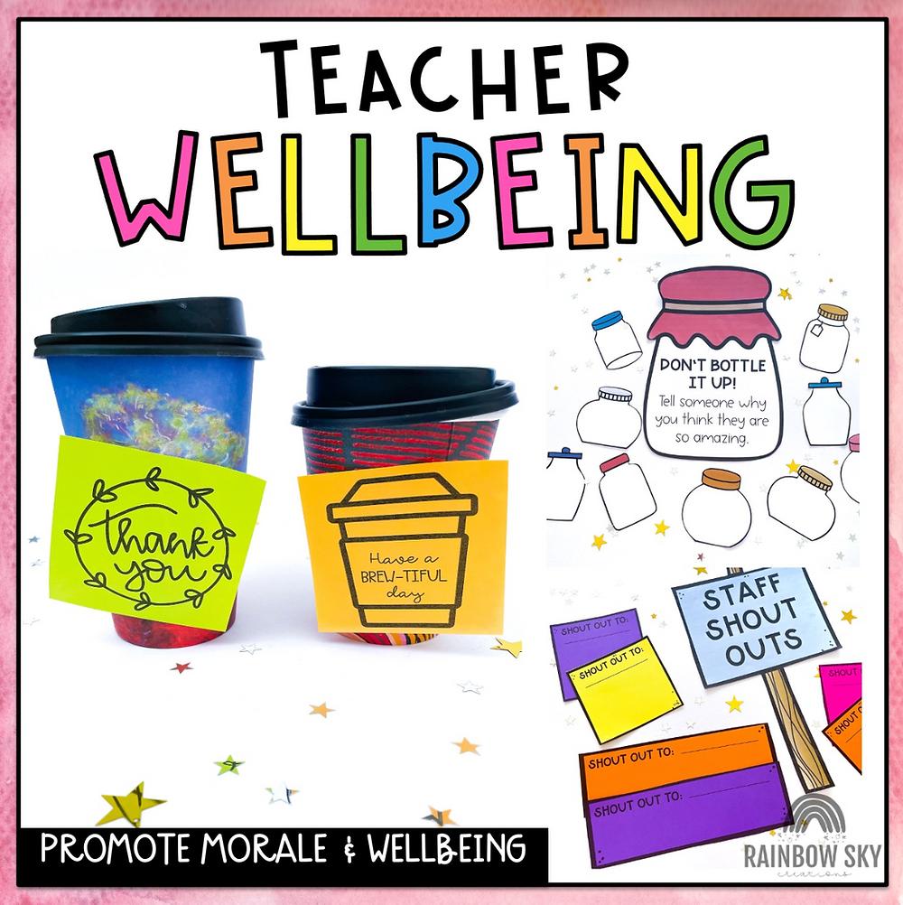 Staff wellbeing resource