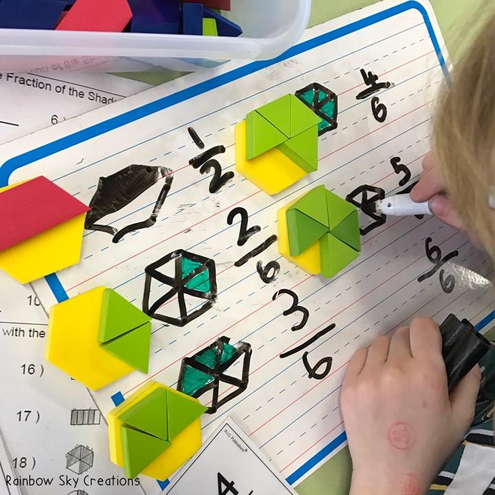 pattern-blocks-fractions-hands-on-maths