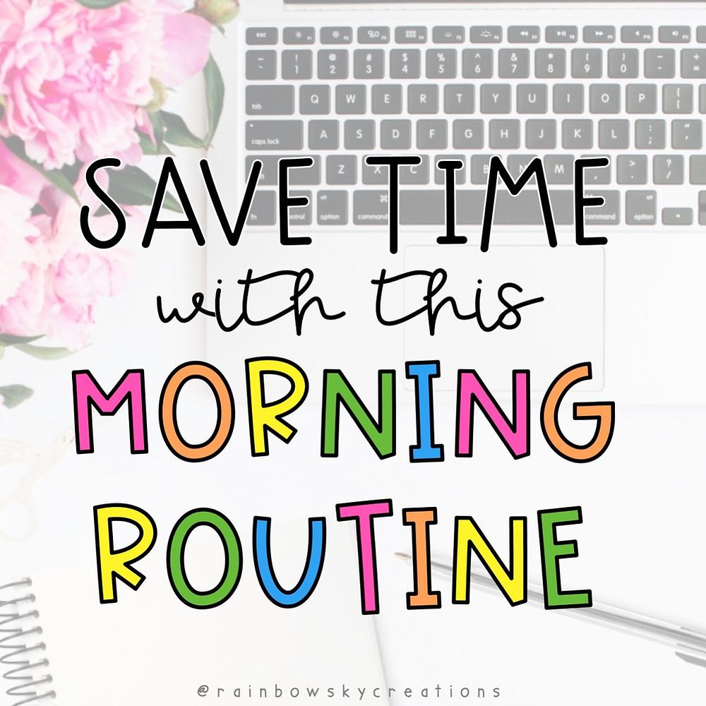 Teacher time saver idea - title