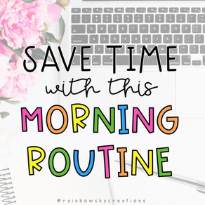Save Time with this Morning Routine