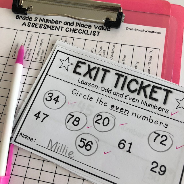 Exit Tickets for Report Writing