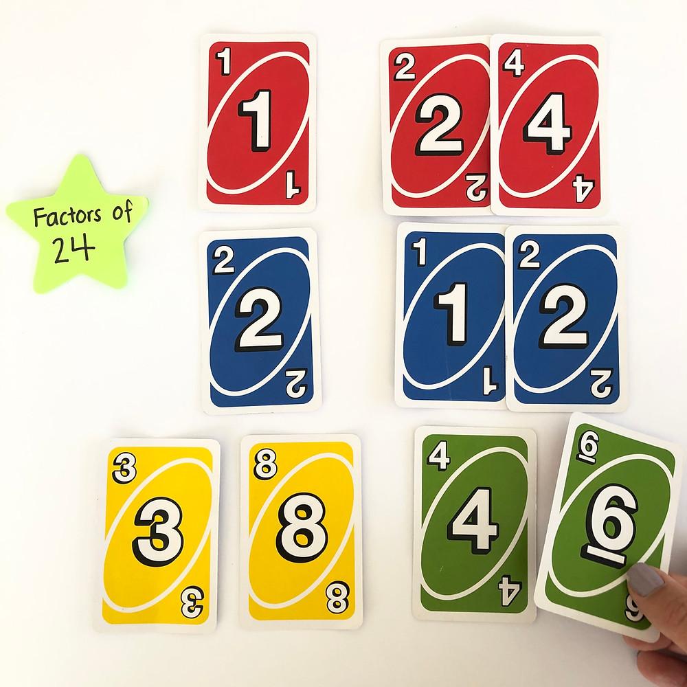UNO-cards-factor-find-activity
