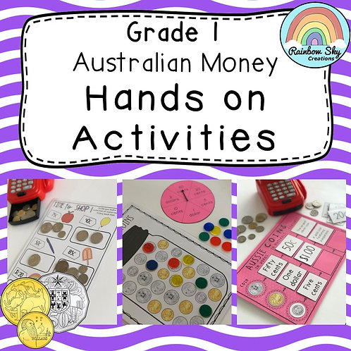 Year 1 Hands-on Australian Money Pack