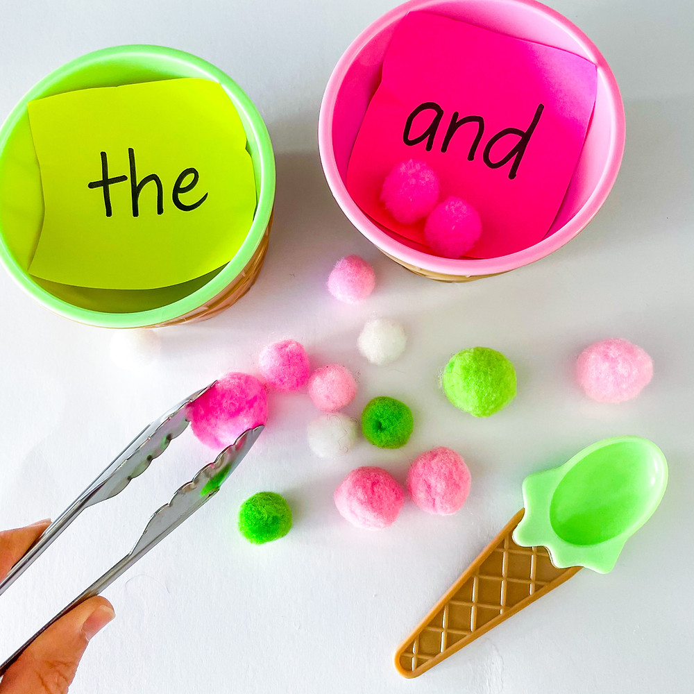 fine-motor-tongs-and-sight-word-activity