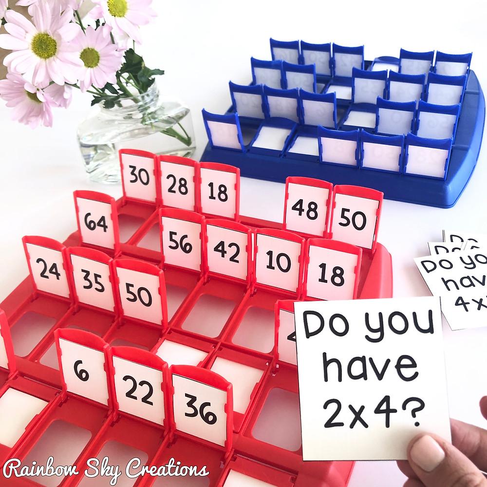 Multiplication-Fluency-Game