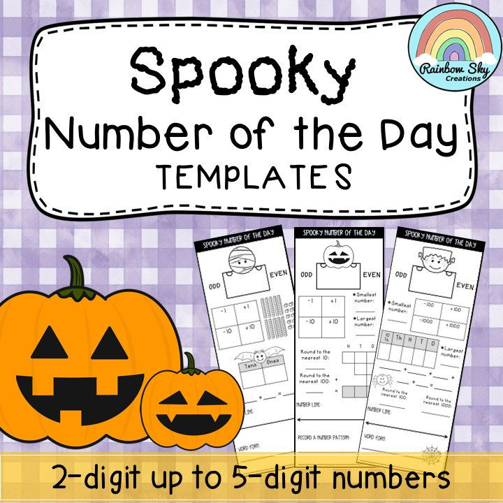 Spooky Number of the Day - Full Resource