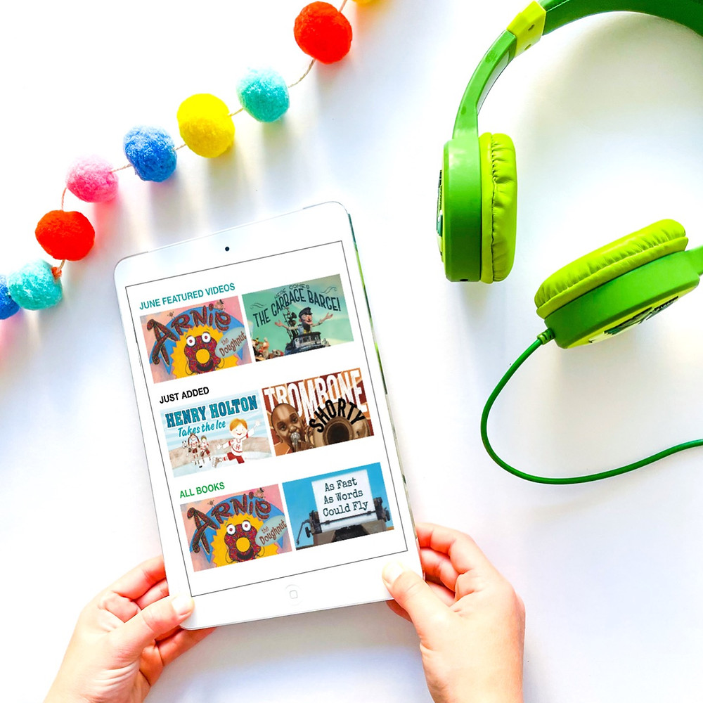 Listening to reading - daily 5 - audiobooks