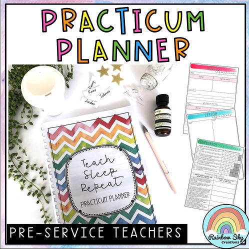 Practicum Planner - Pre service Teachers - AITSL Aligned Australia