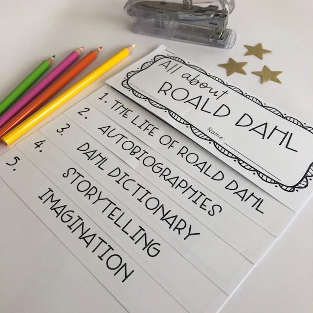 Roald Dahl Flipbook