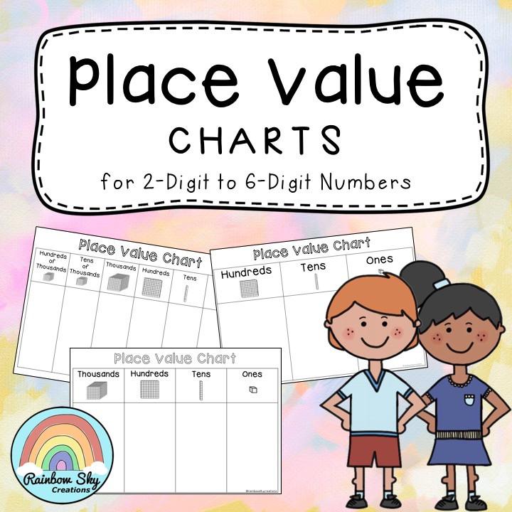 place-value-charts-freebie