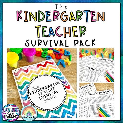 Kindergarten Teacher Survival Guide