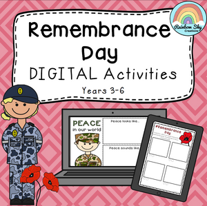 Remembrance Digital Activities