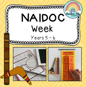 Year 5-6 NAIDOC Week Pack