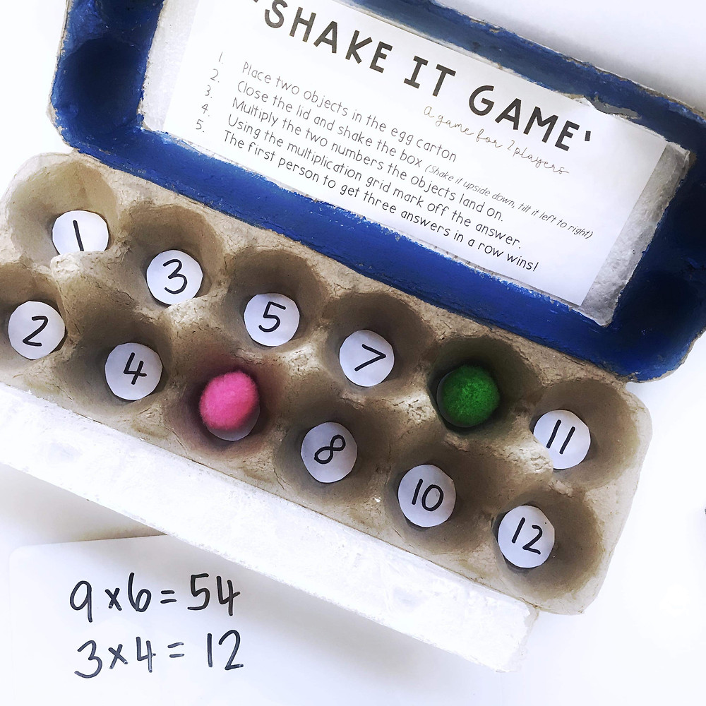 Multiplication-and-Division-Hands-on-Math-activities-and-games-repurpose-egg-carton