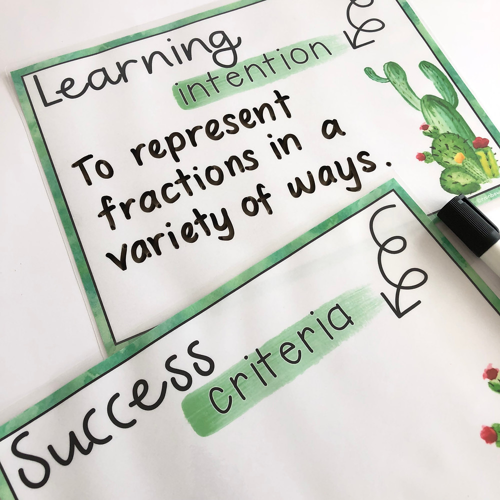 cactus-theme-learning-intentions