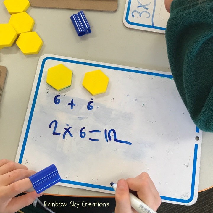 alternative-ways-to-use-pattern-blocks-multiplication-repeated-addition