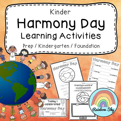 Kinder Harmony Day Pack