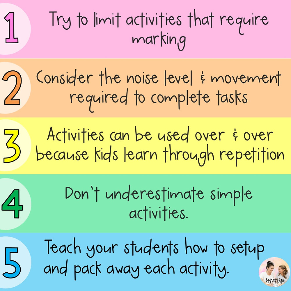 RSC 5 rules for reading group activities